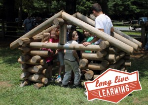Smithgall-Woods Kids Adventure Day Log Cabin