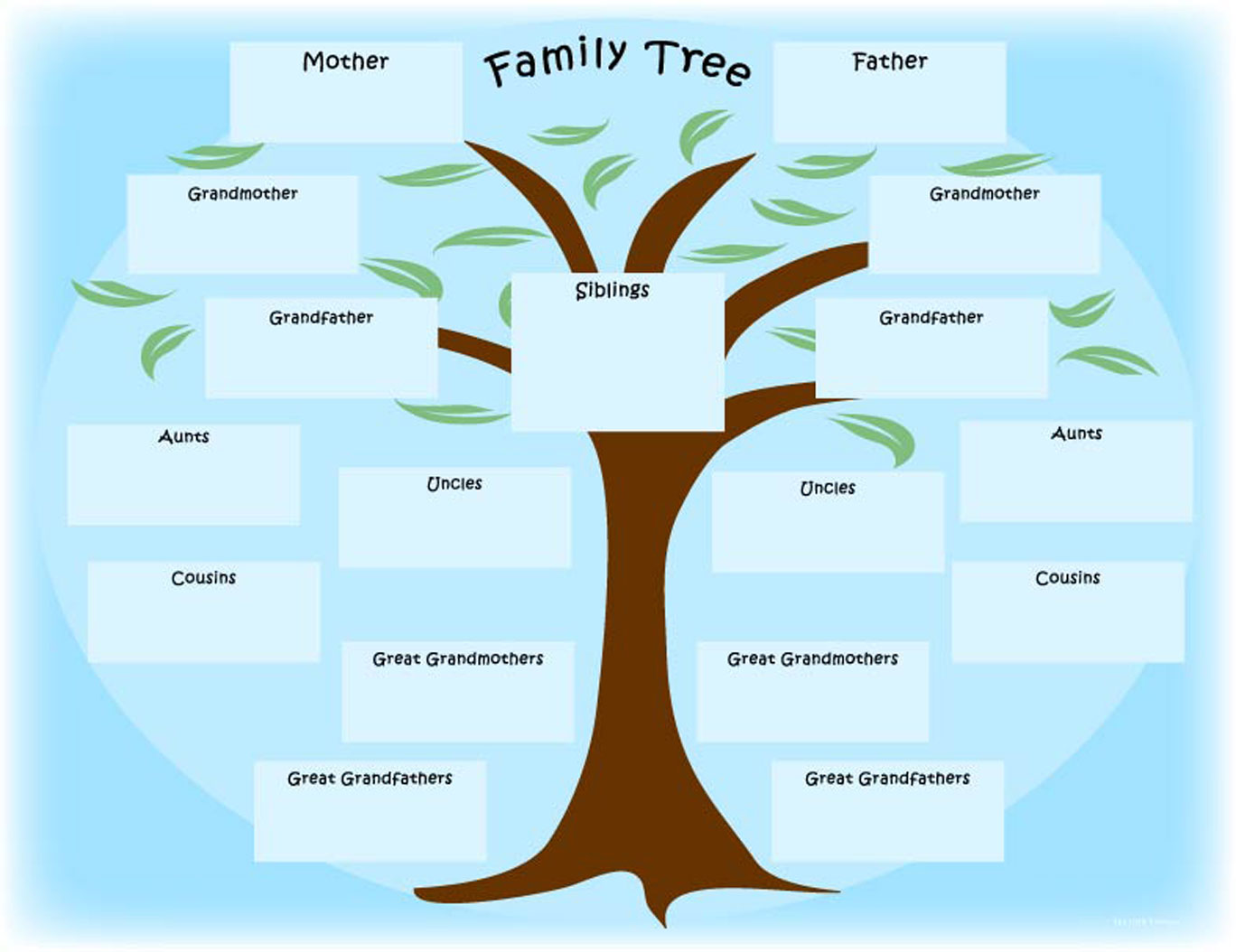 Author of the month brenda woods chicago public library for Interactive family tree template