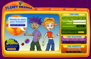 Orange Kids! Website for Kids Money & Finances