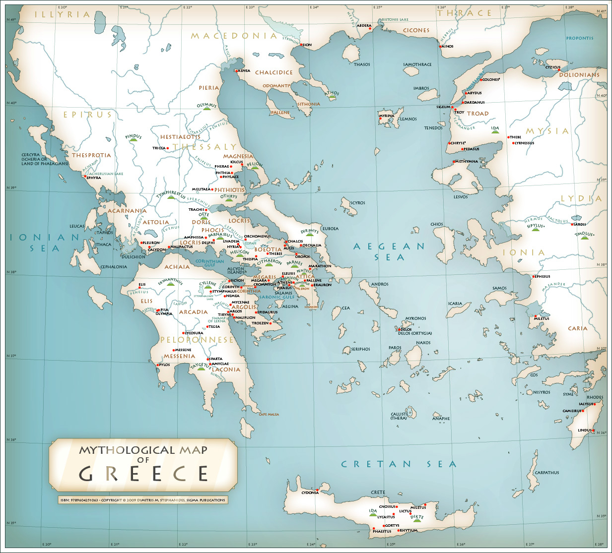 Greek Mythology: Greek God Family Tree & Mythological Maps - Happy ...