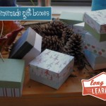 Homemade Gift Boxes Template