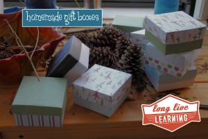 Homemade Gift Boxes