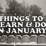 The New Year!! Things to Learn & Do in January