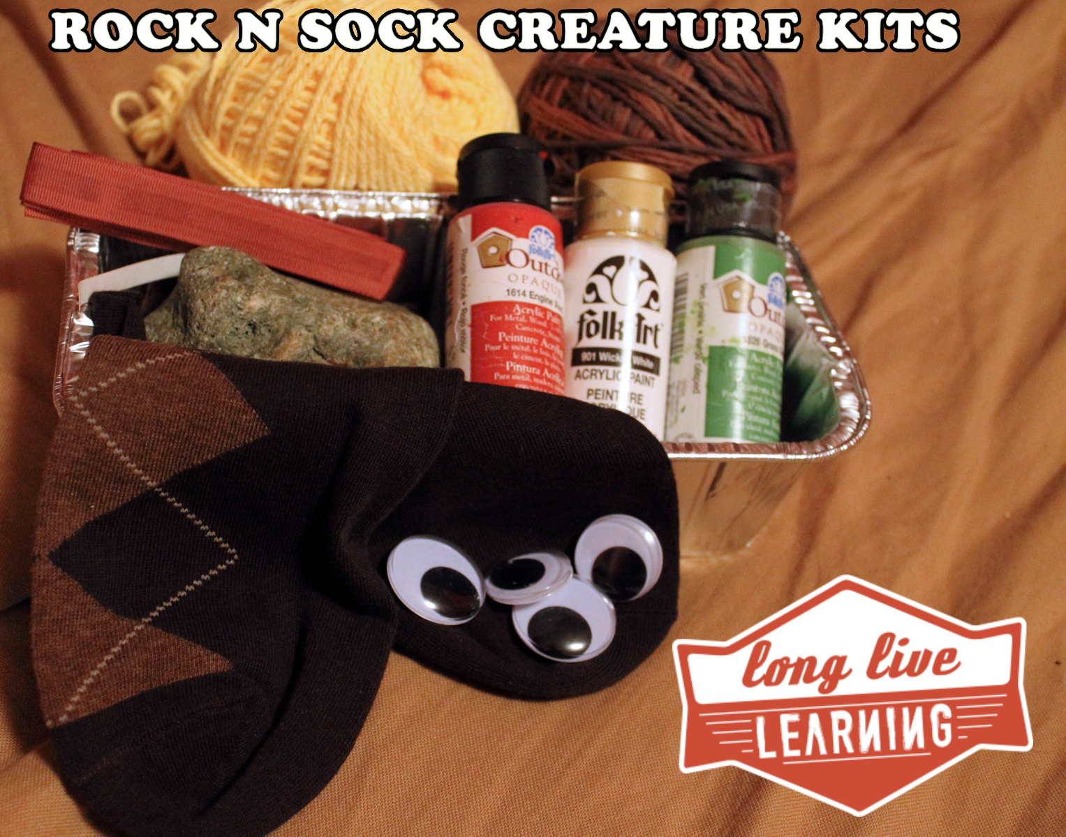 Rock & Sock Creature Kit