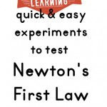 Newton's First Law of Motion Experiments