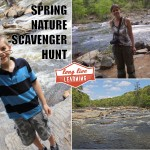 Springtime Nature Walk Scavenger Hunt