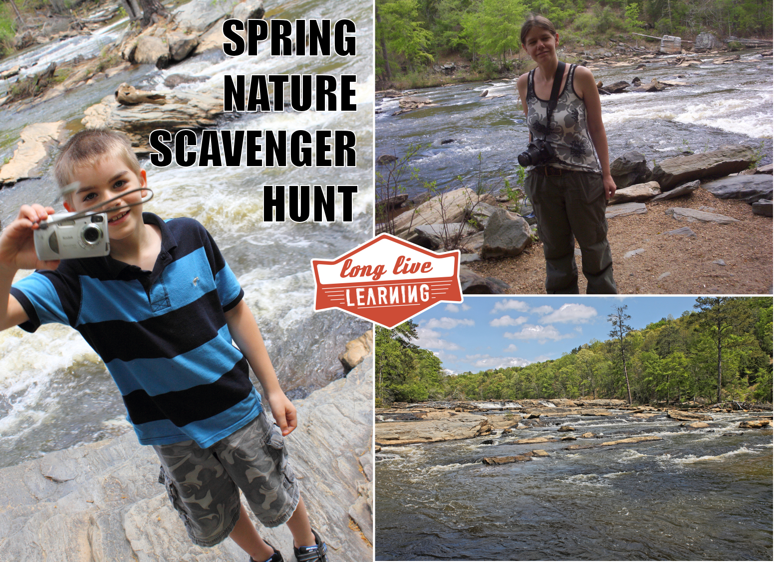 nature hike scavenger hunt