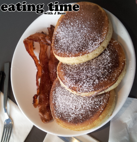 Eating Time: The Blue Plate Pancakes