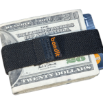 Bandit wallet elastic money clip