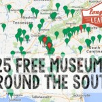 Free Admission to 125 Museums Around the South