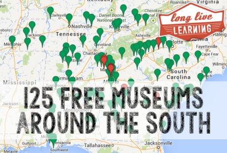 125 Free Admission Museums Around The South