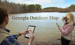 Georgia Outdoor Map