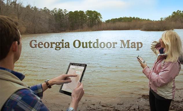 Georgia Outdoor Map