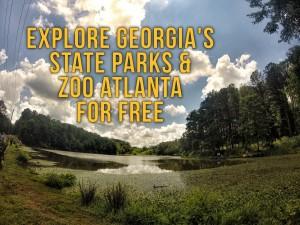 Explore Georgia's State Parks & Zoo Atlanta for FREE