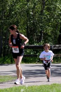 Sporty Mom
