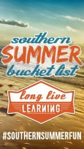 Southern Summer Bucket List
