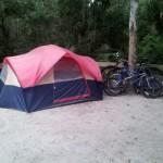 Anastasia State Park Campsite