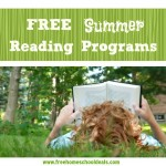 Summer Reading Programs offering freebies for kids! #SouthernSummerFun