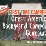 Great American Backyard Campout Giveaway + Campgrounds for First Time Campers