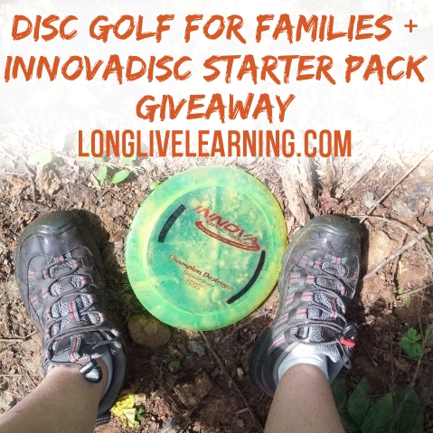Enter our giveaway for an Innova Disc Starter Pack!
