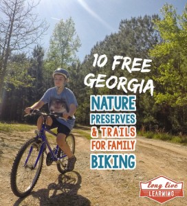 Family Nature Trails for Biking in Georgia