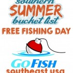Go Fishing on Free Fishing Day! Jun 7, 2014 #SouthernSummerFun