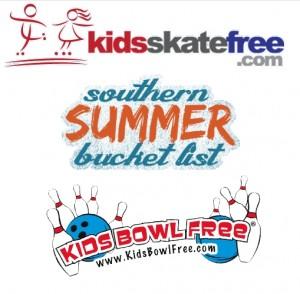 Kids Bowl and Skate Free