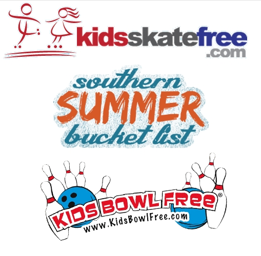 Kids Bowl and Skate Free