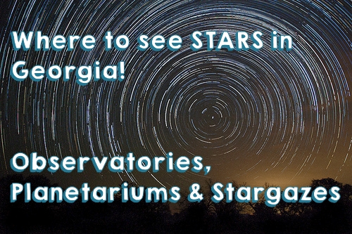 Where to see stars in Georgia