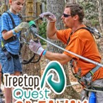 Treetop Quest Family Ziplining Adventure Giveaway
