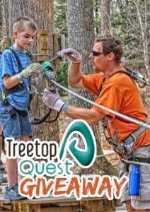 Treetop Quest Giveaway