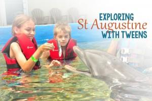 Exploring St Augustine with Tweens