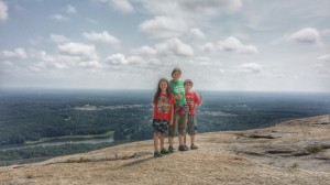 Stone Mountain Park Hike to the top