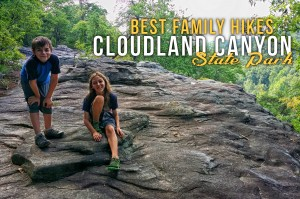 Cloudland Canyon's Best Family Hikes