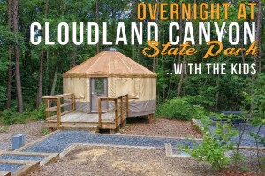 Overnight at Cloudland Canyon