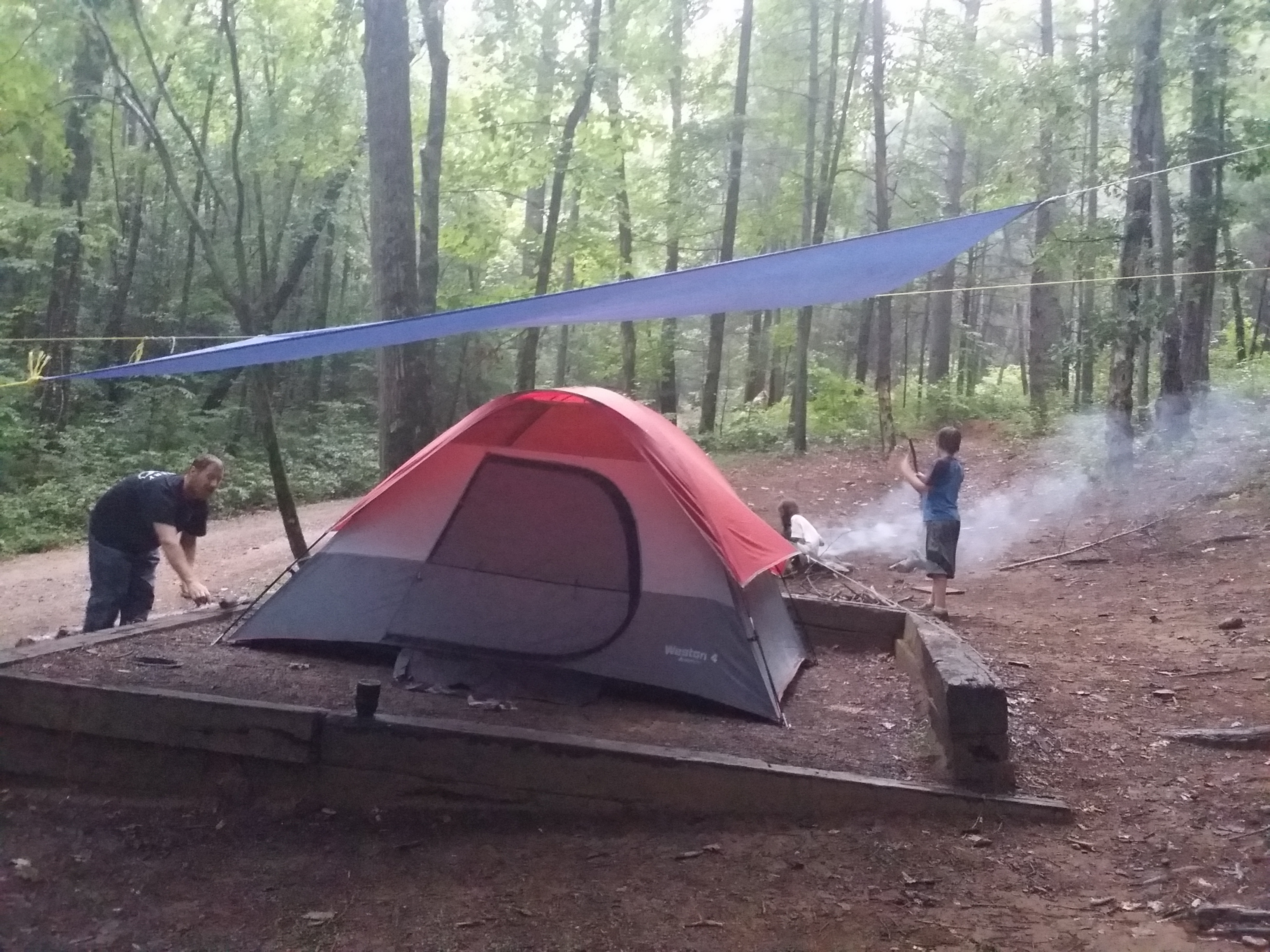What Do Campers Get With Stone Mountain S Ready Set Camp Package