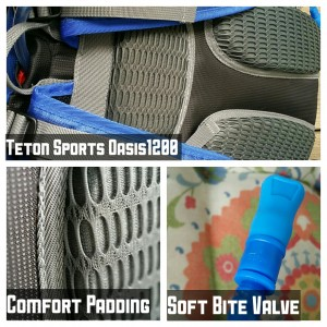 Teton Sports Oasis1200 Hydration Backpack Details