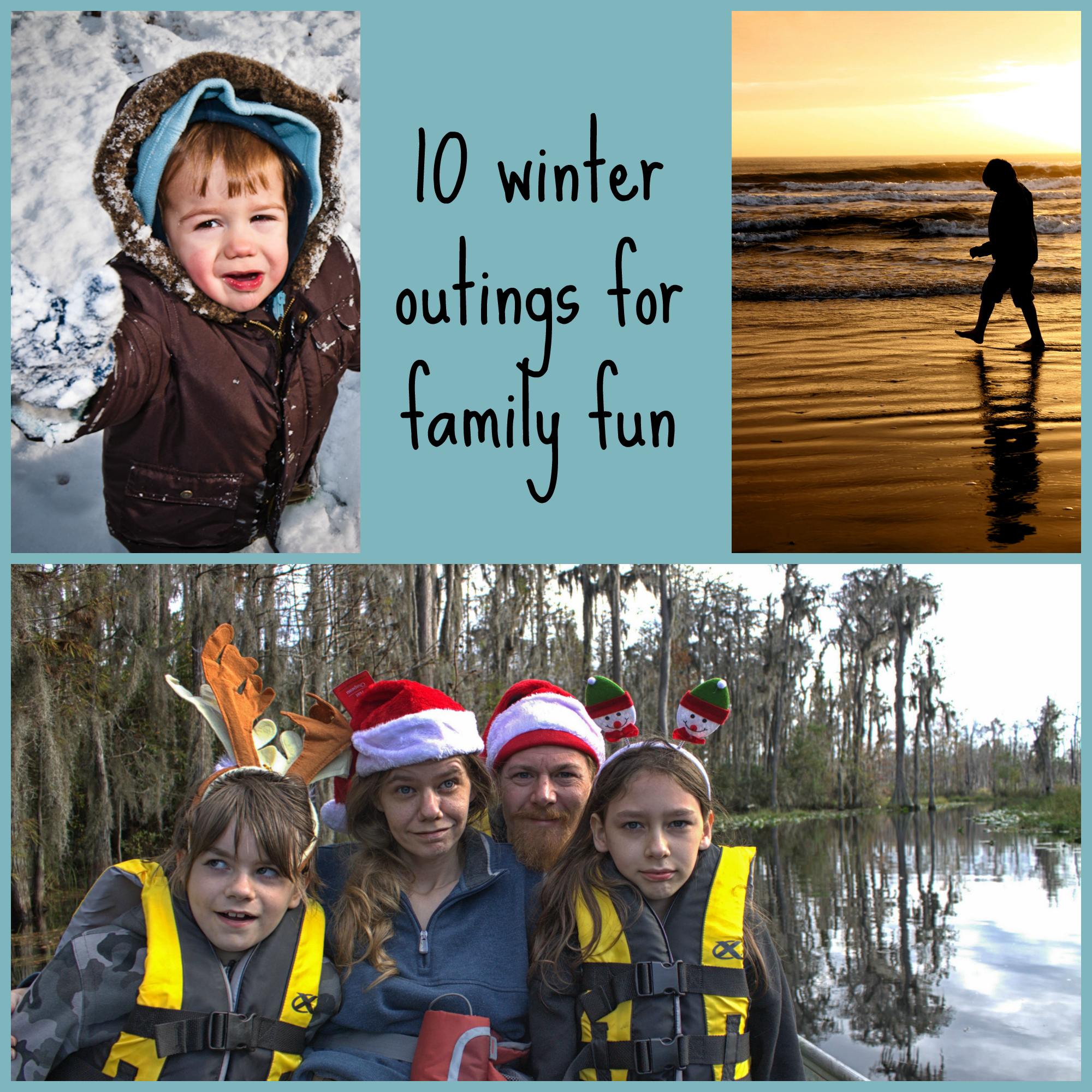 10 winter outings for family fun