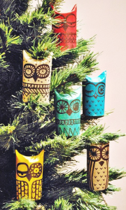 Recycled Xmas | Toilet Paper Roll Ornaments