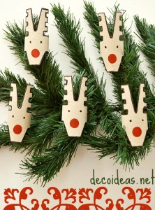 Recycled Xmas | Toilet Paper Reindeer Ornaments