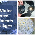 Nine Winter Science Experiments for all ages
