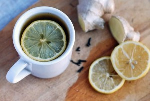 Spiced Ginger Lemon Tea