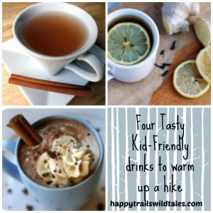 Four tasty, kid-friendly drinks to warm up a winter hike