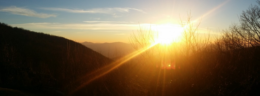 Brasstown Bald Sunset