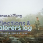 Inconsistency – Harvest 2016 Reflections & Explorers Log