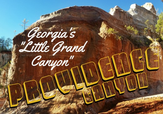 A little grand canyon adventure in Georgia