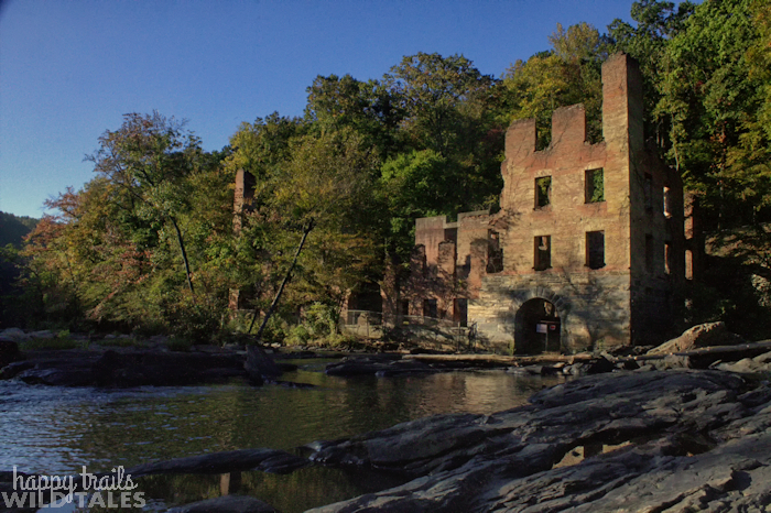 Sweetwater, New Manchester Mill Ruins
