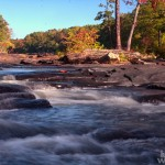 Sweetwater Creek, A river of rocks
